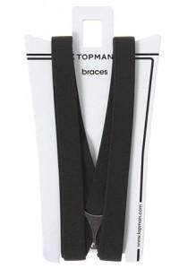 Topman Black Braces