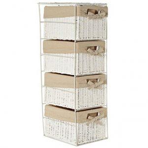 four drawer storage set