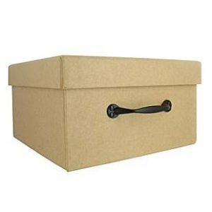 kraft small storage box