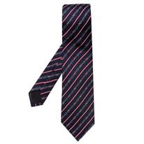 horsebit print tie