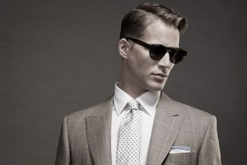 how to wear mens sunglasses