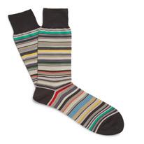 blend striped socks