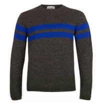 charcoal stripe jumpers