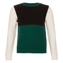 coloured block jumpers