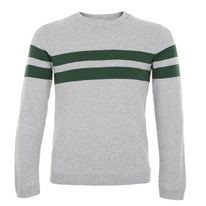 grey striped jumpers