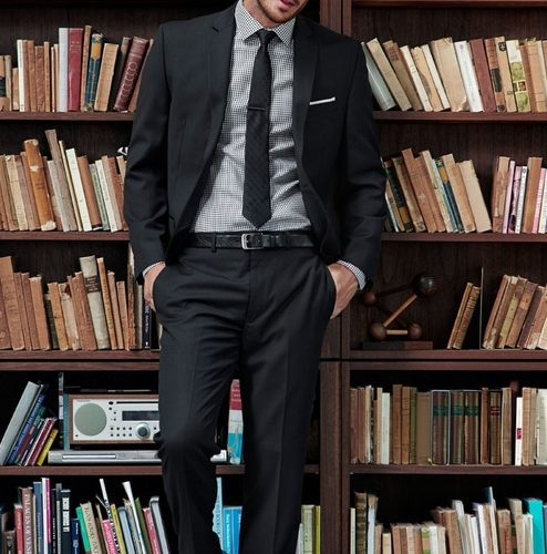 books and businesswear