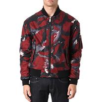 camo storm bomber jacket