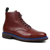 english toe cap boots