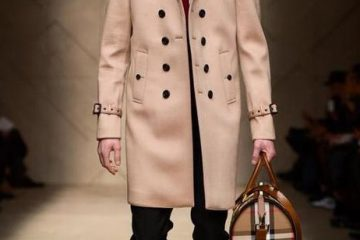 luxury trench