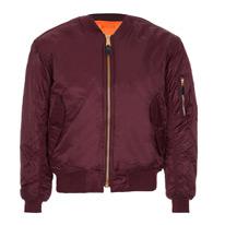 ma1 burgundy jackets
