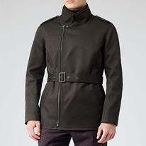 alpha belted jackets