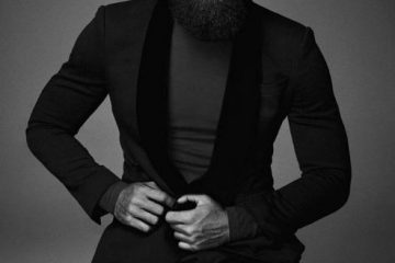 beard and blazer