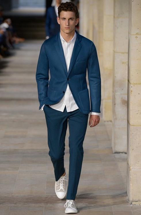 blue suit | Mens Fashion Magazine