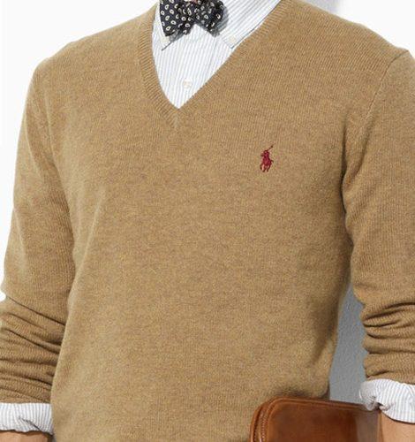 camel knitwear