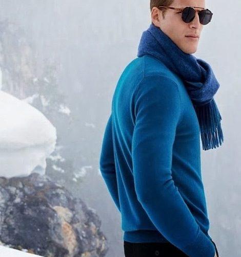blue knits