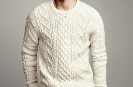 cable knit luxe