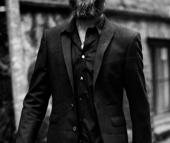 charcoal suiting