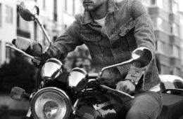 denim biker