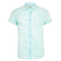 aqua blue shirt