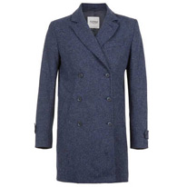 blue marl coat