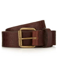 brown emboss belt