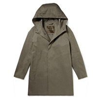 cotton rain coat