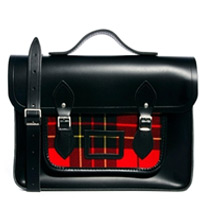 designer leather satchel