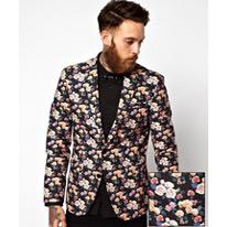 floral blazer print