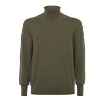 green cashmere jumper