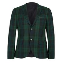 green skinny jacket