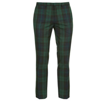 green skinny trousers