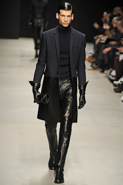 harsh leather look