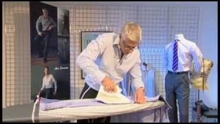 iron a shirt