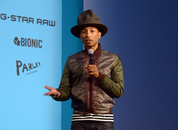 Pharrell+Williams+Curates+Collaboration+Between+QGlHoH8MTpBl