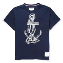 anchor pique tee