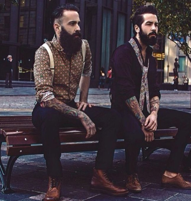beards and prints