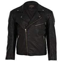 black biker jackets