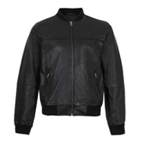 black bomber jackets