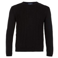 black cable jumper