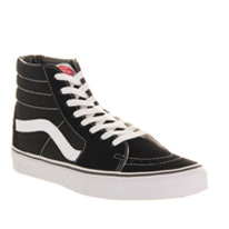 black vans canvas
