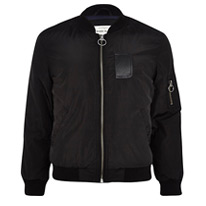 bomber black jacket