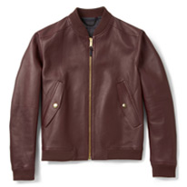 bomber leathers jacket