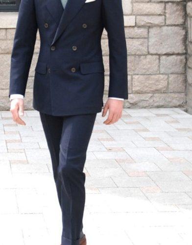 classic double suit
