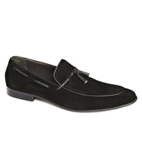 dune tassle loafers