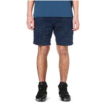 loepard printed shorts