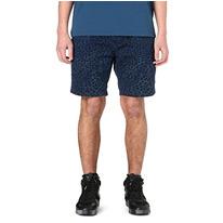 loepard printed shorts
