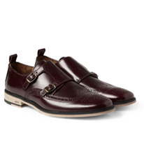 monk strap brogues
