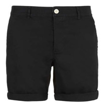 black chinos shorts