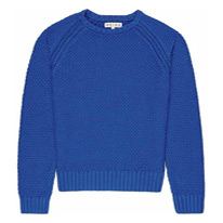 bright cobalt jumper