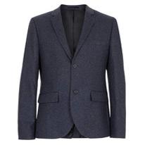 charcoal suit jacket